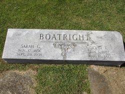 Sarah Elizabeth <i>Gaston</i> Boatright