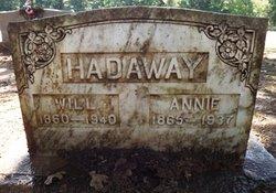 Nancy Ann Annie <i>Cherry</i> Hadaway