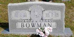 Jiles G Bowman