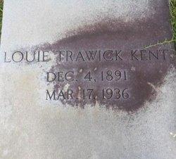 Louie Trawick Kent