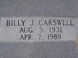 Billy James Jimmy Carswell