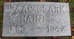 Isaac Clark Haines