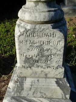 Archibald McEachern, Sr
