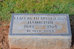 Elizabeth Reese Lizzie <i>Douglass</i> Hamilton