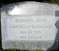 Barbara Jean <i>Campbell</i> Barnhart