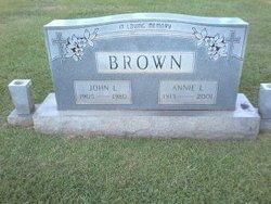 Annie Laura <i>Turner</i> Brown