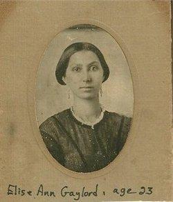 Eliza A. <i>Wakefield</i> Gaylord
