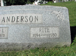 Pansy Ruth Ruth <i>Bowser</i> Anderson
