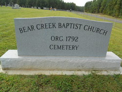 Bear Creek Baptist Church Cemetery