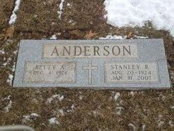 Betty Ann <i>Erickson</i> Anderson