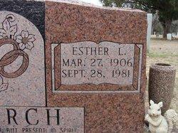 Esther Lou <i>Crayton</i> Burch