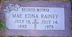 Mae Edna <i>Bradley</i> Rainey