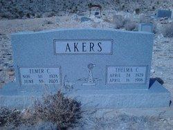 Elmer C Akers