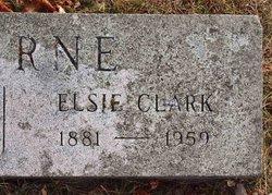 Elsie <i>Clark</i> Bourne