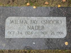 Wilma Fay <i>Shook</i> Nader