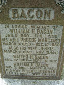 Ellen G. <i>Stedman</i> Bacon