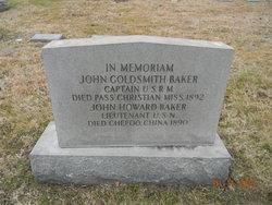 Capt John Goldsmith Baker