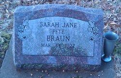 Sarah Jane Pete Braun