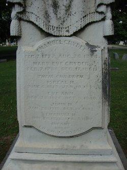 Mary Eve <i>Hess</i> Cryder