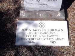 Pvt John McIver Furman