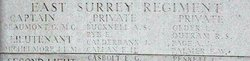Private Arthur Sidney Bucknell