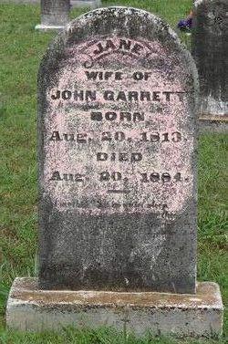 Jane <i>Rushing</i> Garrett