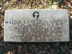 Walter Langdon Ammen