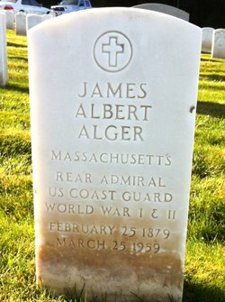 Adm James Albert Alger