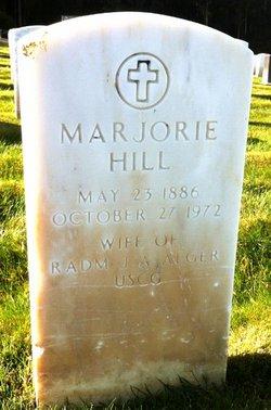 Marjorie <i>Hill</i> Alger