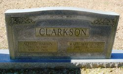 Mary May <i>Jones</i> Clarkson