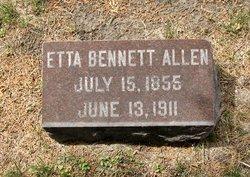Etta <i>Bennett</i> Allen