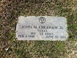 John Milton Abraham, Jr