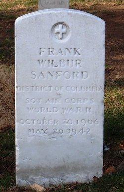 Sgt Frank Wilbur Sanford