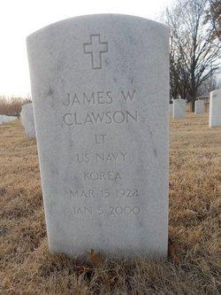 James W Clawson