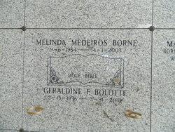 Melinda <i>Medeiros</i> E
