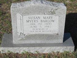Susan Mary <i>Myers</i> Barlow