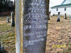 Ida E <i>Elliot</i> Williams