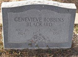 Genevieve <i>Robbins</i> Blackard