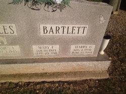 Mary Frances <i>Lee</i> Bartlett