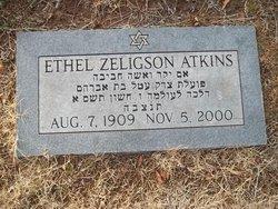 Ethel <i>Zeligson</i> Atkins