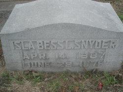 Islabess L. Snyder