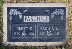 Martha Elizabeth <i>Hearn</i> Paschall