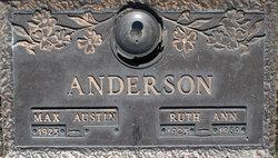 Ruth Ann <i>Riley</i> Anderson