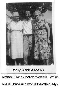Gracie E <i>shelton</i> Warfield