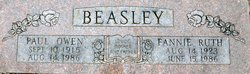 Fannie Ruth <i>Johnson</i> Beasley