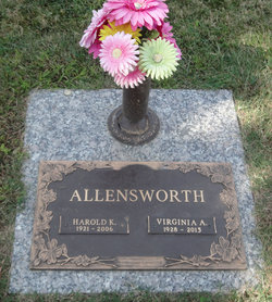 Virginia A Ginny Allensworth