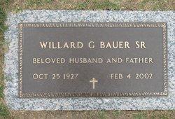 Willard G Bauer, Sr