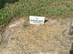 Jerome Francis Jerry Hess