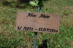 Alice <i>McComber</i> Akers