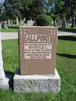 Myrtle I. <i>Pennecott</i> Allport
